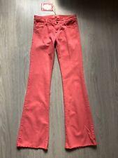 Jean MANOUSH Neuf 36 XS S 38 corail coupe large pantalon