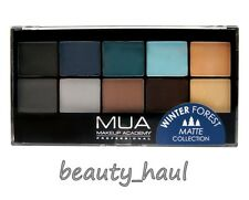MUA WINTER WALD MATT PALETTE 10 neutral lidschatten farbtöne NEU IN Musthave