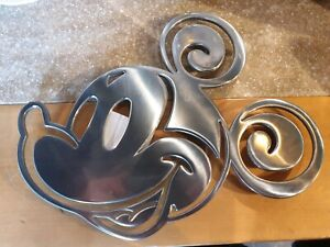 Sous-Verre Flat Mickey Metal Disneyland Paris