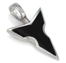 BICO Australia Jewelry Black Mullispear (BTS25) Polished Pendant Spear Charm NEW