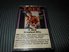 T. REX Greatest Hits Cassette Tape Rare!!! Very Good Condition!!