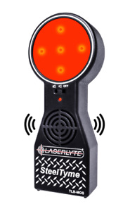 LaserLyte Trainer Target Steel Tyme Plinking Steel Audio Sound Visual LED Light