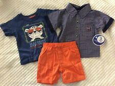 12 Month Boys 3 Piece Outfit By Nannette Kids. NEW WITH TAGS.