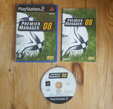 Premier Manager 08 - PS2 - PAL - Complete