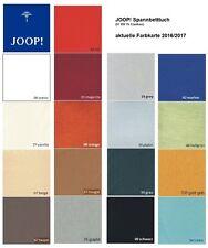JOOP! Spannbetttuch Feinjersey höchste Qualität Farbbrillanz langlebig 140x200