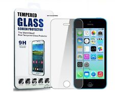 Real Tempered Glass Film LCD Screen Protector for Apple iPhone 5s 5c 5 SE