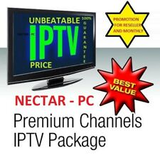 IPTV Reseller deal - PREMIUM CONTENT - TOP SUPPORT Re-seller package HALF PRICE