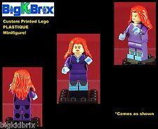 PLASTIQUE Superhero DC Comics Custom Printed LEGO Minifigure NO DECALS USED!