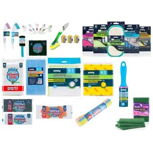 Minky Cleaning Products Mcloth Sponges Brushes Antibacterial All products