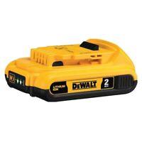 DEWALT 20V MAX Lithium-Ion Compact Battery Pack 2.0Ah DCB203