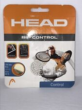 HEAD RIP CONTROL 16 GOLD Stringing for new racquet