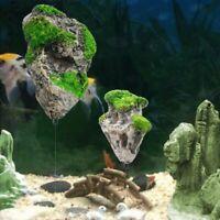 Aquarium Floating Rock Suspended Artificial Stone Decor Fish Tank Flying Rock