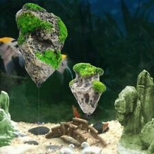 Aquarium Floating Rock Suspended Artificial Stone Decor Fish Tank Flying Rock