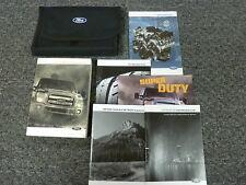 2013 Ford F450 F550 Super Duty Diesel Pickup Truck Owner Manual 6.7L XL XLT