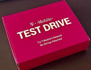 T-Mobile Test Drive WiFi Hotspot. With Battery, Charger, No sim card included.