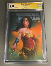 CGC 9.8 SS Wonder Woman #750 Shannon Maer Virgin Cover w/ Sketch COA Variant DC