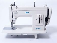 REX-607 Portable Upholstery Walking Foot Sewing Machine All Cast Metal Machine