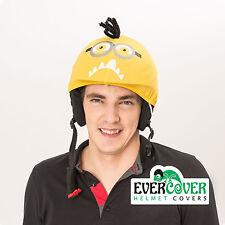 Crazy minion ski helmet cover, snowboard apparel, winter sport accessories