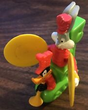 "McDonald's Looney Tunes BUGS BUNNY & DAFFY DUCK 3"" Train Toy 1994 Warner Bros."