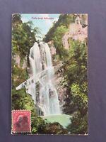 ±1909 Postcard PORTO PUERTO RICO Falls near Aibonito Waldrop Photographic Old