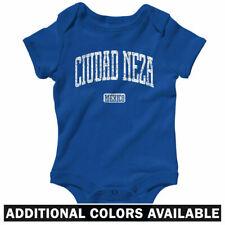 Ciudad Neza Mexico One Piece - Bebe Baby Shirt Infant Creeper Romper - Nb to 24M
