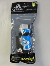 Adidas Ghost Youth Soccer Shin Guards New Youth Blue Junior Small