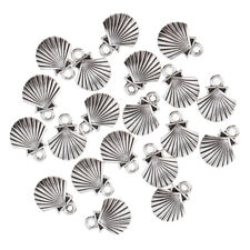 20pcs Sea Creature Shell Charms Loose Beads Pendant Craft for Necklace