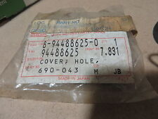 ISUZU BUMPER INSERT HOLE COVER # 8-94488625-0  # 94488625  NEW IN PACKAGE