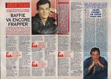 Coupure de presse Clipping 1994 Laurent Baffie  julien Courbet (2 pages)