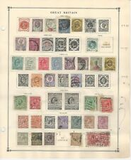 Great Britain Collection 1887-38 on 2 Scott International Pages