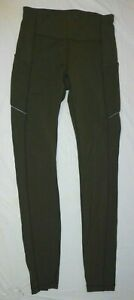 Lululemon Olive Green Leggings Size S 2-4