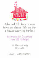 Personalised Pretty Lights Modern Engagement Party invites inc envelopes E17