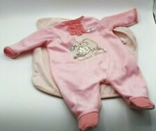 Zapf Creation Pink With Lamb Doll Outfit Baby An