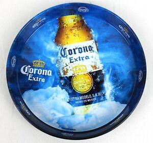 """New Genuine Corona Extra Drinks Beer Tray New Mexican Kitsch Decor """"Extra Fria"""""""