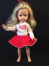 "Vintage Tomy Kimberly Doll, Cheerleader 17"""