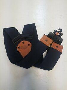 NEW Dickies Work Suspenders Heavy Duty Navy