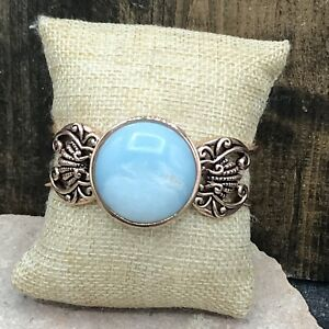 Barse Atlantis Cuff Bracelet- Amazonite- Copper- NWT