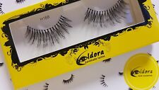 Eldora False Eyelashes H168 Human Hair Strip Lashes