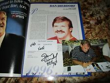 1996 Football Hall of Fame Yearbook Signed by Gibbs, Dierdorf, Joiner and Renfro