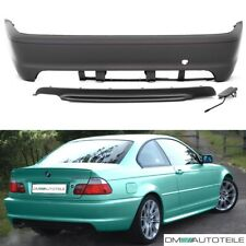 BMW 3er E46 COUPE CABRIO Stoßstange hinten Heck o. PDC 99-07 + Diffusor M-Paket