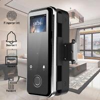 Fingerprint Door Lock Password Keypad Home Doorbell Digital Code Entry Biometric