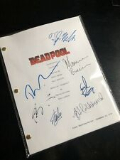 Deadpool movie Script