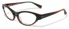 NEU Alain Mikli Paris AL1215 Damen Cat Eye Braun Fassung Brille Brillen