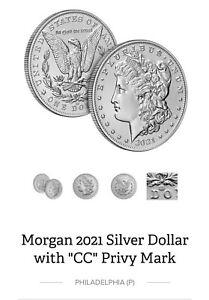 2021 CC Morgan Silver Dollar .999 Carson City Privy *PRESALE* 100th Anniversary