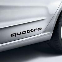 Original Audi Dekorfolie quattro brillantschwarz 4G0064317AY9B für alle Modelle