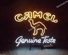 RARE New Camel Genuine Taste Marlboro Cigarette Tobacco BEER BAR NEON LIGHT SIGN