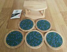 Handmade Vintage/Retro Round Coasters