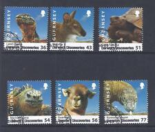 GUERNSEY, 2009, DARWINS DISCOVERIES, SG 1267-72, FINE/USED SET OF 6, CAT £7.50