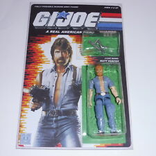 "Gi joe Invasion USA Custom  4"" Chuck Norris"