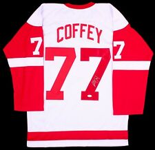 Paul Coffey Signed Detroit Red Wings Jersey (JSA COA)
